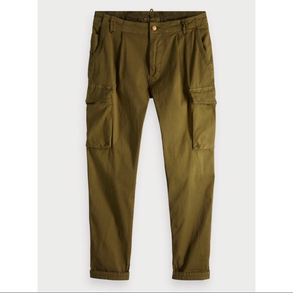 vast selection top fashion website for discount Scotch & soda crop cargo pants
